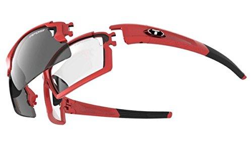 Tifosi Optics Unisex Escalate F.H. Pro Modell, Unisex-Erwachsene, 1241202701, Rot, metallisch, Einheitsgröße