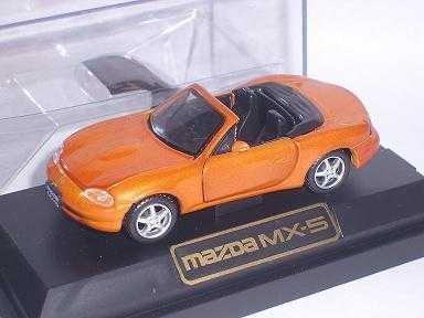 MAZDA MX5 MX-5 NB 2. GENERATION ORANGE SOFT TOP CABRIO 1/43 WEMI MODELLAUTO MODELL AUTO (Modellauto Mazda Mx 5)