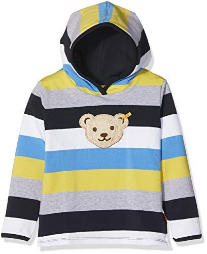 Steiff Jungen 1/1 Arm Sweatshirt, Mehrfarbig (Y/D Stripe|Multicolored 0001), 98 -