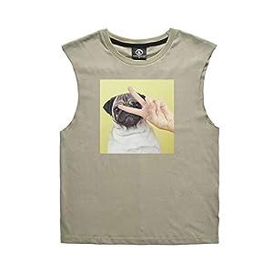 Paar Shirt, lustige Druck Frauen Männer ärmellose Weste Mode lässig Sommer