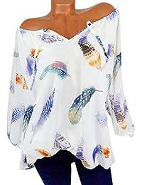 c1c8eb38fc079 NEEDRA Sales Blouse Shirt Women Full Size 8-22 S-XXXXXL Cotton Off The  Shoulder Bardot Plus Size Floral V-Neck Blouses Tops T…