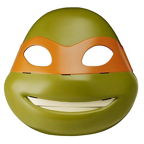Teenage Mutant Ninja Turtles Electronic Michelangelo Maske mit Ninja Schlacht Augen (Turtle Augen Ninja)