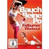 Bauch, Beine, Po - Fatburner W [Alemania] [DVD]