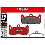 Galfer - Pastiglie per freni Formula Cura 4 Advanced, G1851, unisex, taglia unica, colore: rosso