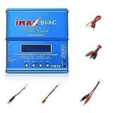 BigButterflyde IMax B6AC 80W 6A Netzteil Life Batterie Balance Charger Lipo NiMh Ladegerät