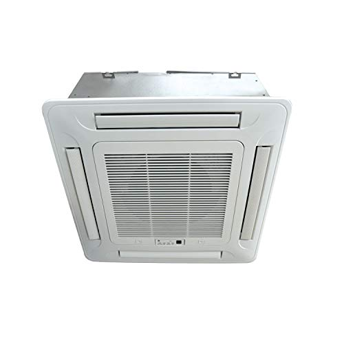 41aErjBLBDL. SS500  - 18000 BTU 16kW Compact DC Inverter Round Flow Ceiling Cassette Air Conditioner - 4-Way Round Flow Air Conditioning Unit with Heat Pump