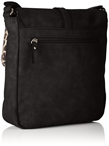 Tamaris - Bernadette Crossbody Bag M, Borse a tracolla Donna Nero (Black)