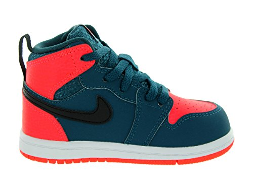 Jordan Retro Toddlers 1 Haut Bt Teal / infrarouge 23 / blanc / noir 705304-312 Teal/Black/Infrared 23/White