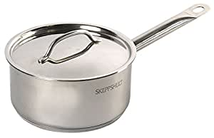 Casserole 2 litres inox Skeppshult + couvercle