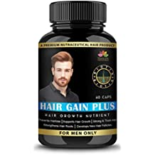 Woxalife Hair Gain Plus - All Natural Hair Loss Supplement For Healthy Hair - 60 Veg Capsules
