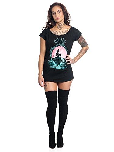 Arielle die Meerjungfrau Part of Your World T-Shirt schwarz XL