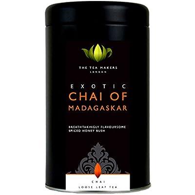 The Tea Makers of London Tee Chai of Madagaskar Honigbuschtee mit exotischen Früchten Früchtetee vom Teekontor, 1er Pack (1 x 125 g) von The Tea Makers of London auf Gewürze Shop
