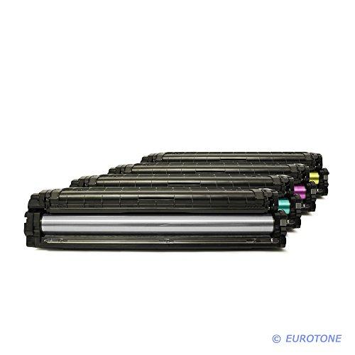 Preisvergleich Produktbild 4x Eurotone Toner für Samsung Xpress C 1810 1860 fw W Premium Line ersetzt CLT-504S
