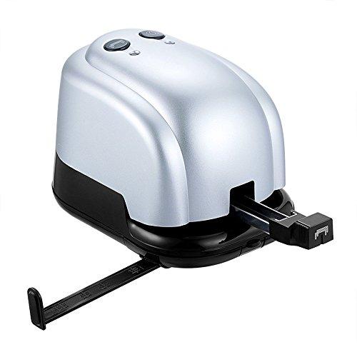Newelloo Elektrischer Hefter & 2-Loch Punch-2 in 1 Heavy Duty Automatischer Elektrohefter und 2-Loch-Locher Für Zuhause, Büro, Klassenzimmer und Schule, 14-20 Blatt