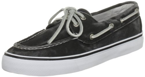 Sperry  BAHAMA 2-EYE, Sneakers Basses femme Noir-V.6