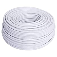 100 Yards RG-6U Coaxial Cable for Satellite Receiver