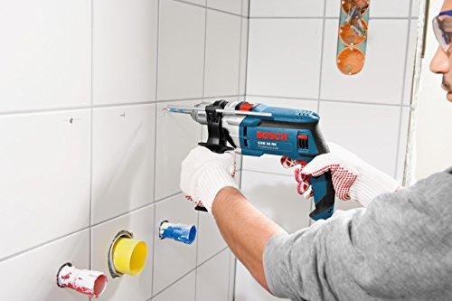 Bosch Professional GSB 16 RE Schlagbohrmaschine + Schnellspannbohrfutter 13 mm + Tiefenanschlag 210 mm + Zusatzhandgriff + Koffer (750 W) - 2