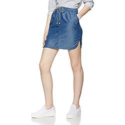 FIND Women's Chambray Mini Skirt
