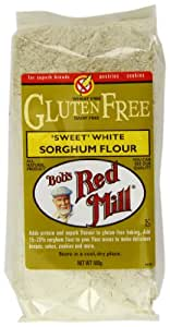 Bob s red mill gluten free whole grain sorghum flour 500 g pack of 4
