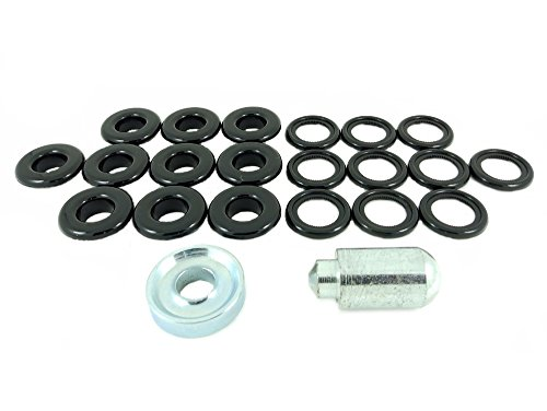 12mm Kunststoff Öse und Waschmaschine Reparatur Kit ()