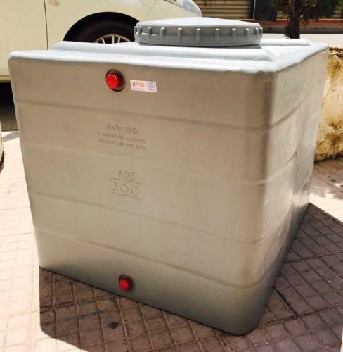 Citerne, réservoir, boîte en polyéthylène pour aliments, eau, 200 l