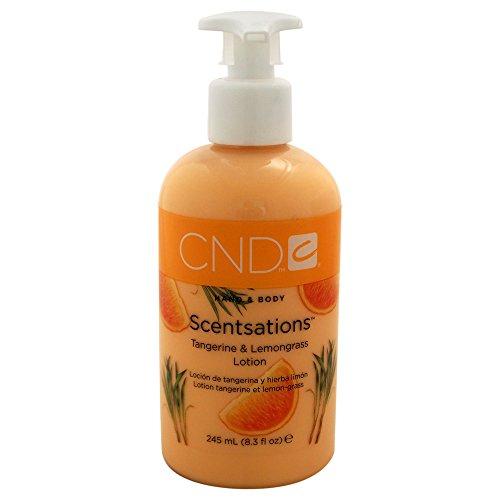 CND Hand- und Bodylotion Scentsations Mandarine und Lemongrass, 1er Pack (1 x 245 ml) - Scentsations Lotions