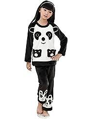 Animaux Lovely Cartoon Series pyjama pour filles (120–Hauteur: 133cm)/Panda