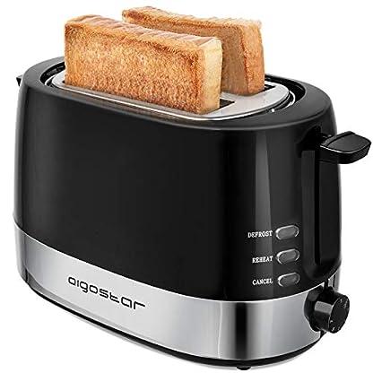 Aigostar-Brotchen-BlackWhite-Toaster