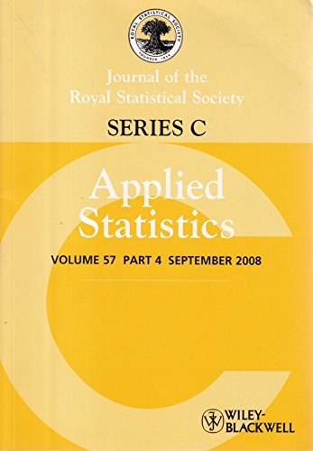 Journal of the Royal Statistical Society: Series C: Applied Statistics: Volume 57, Part 4, September 2008