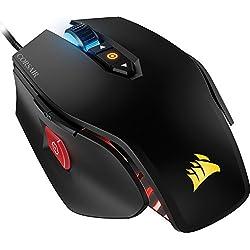 Corsair M65 PRO RGB Mouse Ottico da Gioco, RGB Multicolore Retroilluminato, 12000 DPI, Nero