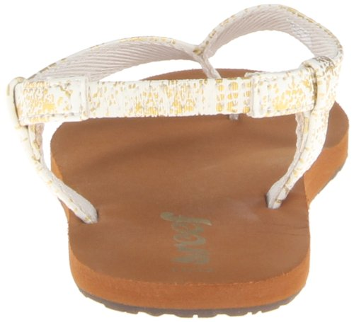 Reef Little Ronday Vu, Sandales fille Beige (Champagne)