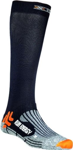 X-Socks Funktionssocken Run Energizer, Black, 42/44, X020327 (Kompression-socken)
