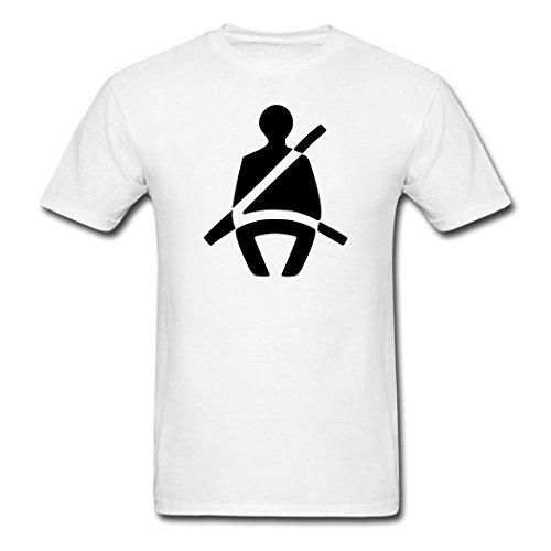 Wei? vogue Seat Belt Symbol t shirts X-Large