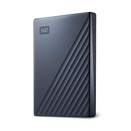 WD 2TB My Passport Ultra, USB-C, Blau