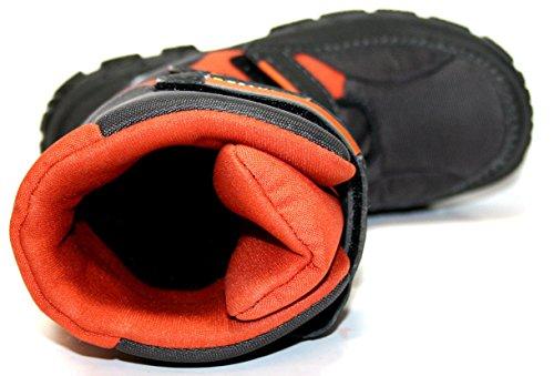 Juge tex 21.7460.2231 enfant bottes garçon Multicolore - Braun -Orange