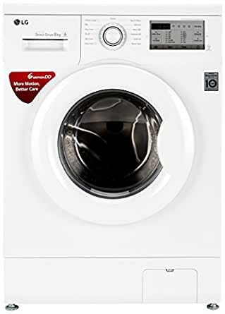 LG 6 kg Fully-Automatic Front Loading Washing Machine (FH0H3NDNL02, White)