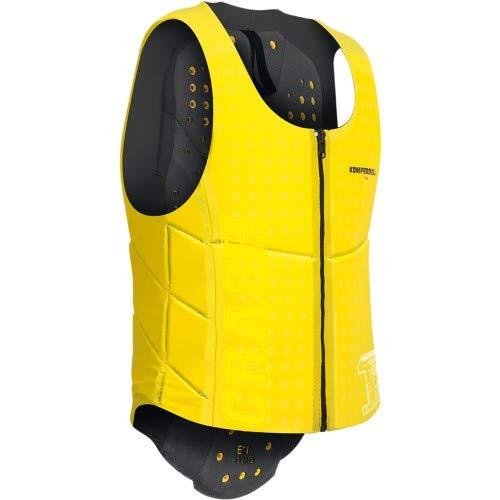 KOMPERDELL Ballistic Vest Junior Yellow Protection, Unisex Erwachsene, Unisex-Erwachsene, 6287-206.F18, Schwarz, 140