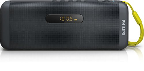 Philips SD700B Enceinte Bluetooth sans Fil avec Port USB, Carte MicroSD, Radio FM, Compatible Android, iPhones, Samsung, Noir