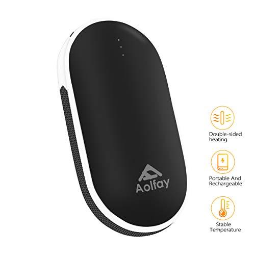 Aolfay Calentador de Manos USB Recargable