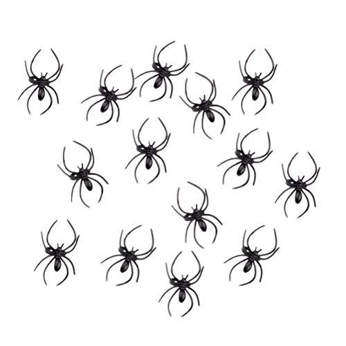 een Spider Ring Kunststoff Spider Ring Halloween Kostüm Requisiten ()
