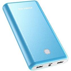 POWERADD Pilot X7 Powerbank Caricabatterie Portatile 20000mAh con 2 Output da 3.1A per Ogni, Compatibile con Apple iPhone 8 / 7s Samsung Galaxy Huawei