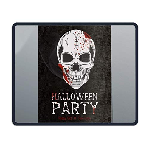 meniony Mouse Pad,Halloween Printable Flyer Printed Mousepad Non Slip Rubber Mouse pad Gaming Mouse Pad