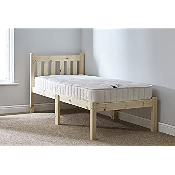 Short length Childs Bed - Small Single Bed Pine 85cm by 175cm Single ...