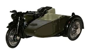 OXFORD DIECAST 76BSA005 BSA Motorcycle Sidecar 34th Armoured Brigade 1945