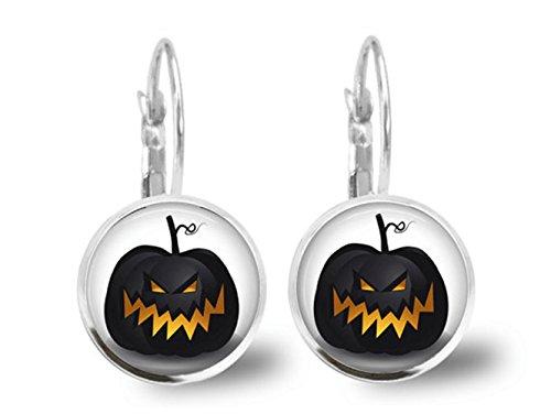 Zucche e pipistrelli halloween gioielli