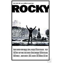 Póster de película Rocky (brazos en la distancia)