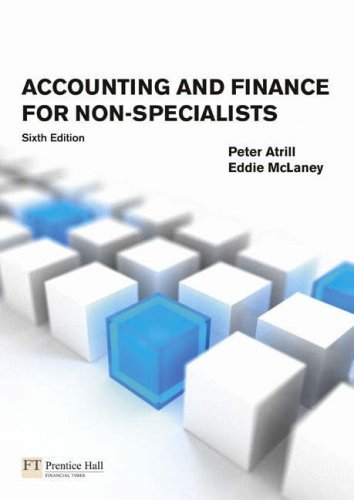 Accounting and Finance for Non-Specialists: Plus MyAccountingLab XL Student Access Card by Dr Peter Atrill (2008-06-26)