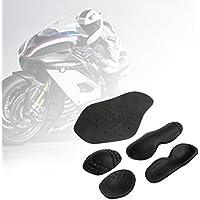 Set di 5protezioni rimovibili per spalle, gomiti e schiena, in EVA, per motociclismo, motocross, ciclismo e pattinaggio