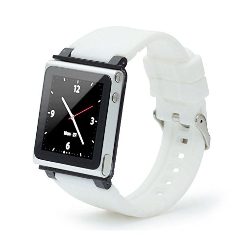 bracelet-de-montre-pour-apple-ipod-nano-7-blanc