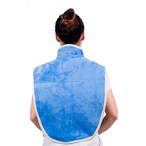 Heated Blanket Cervical Hot Compress Elektrische Heizkissen Schulter Hals Samt Physiotherapie Tasche,Big (Hals Elektrische Heizkissen)